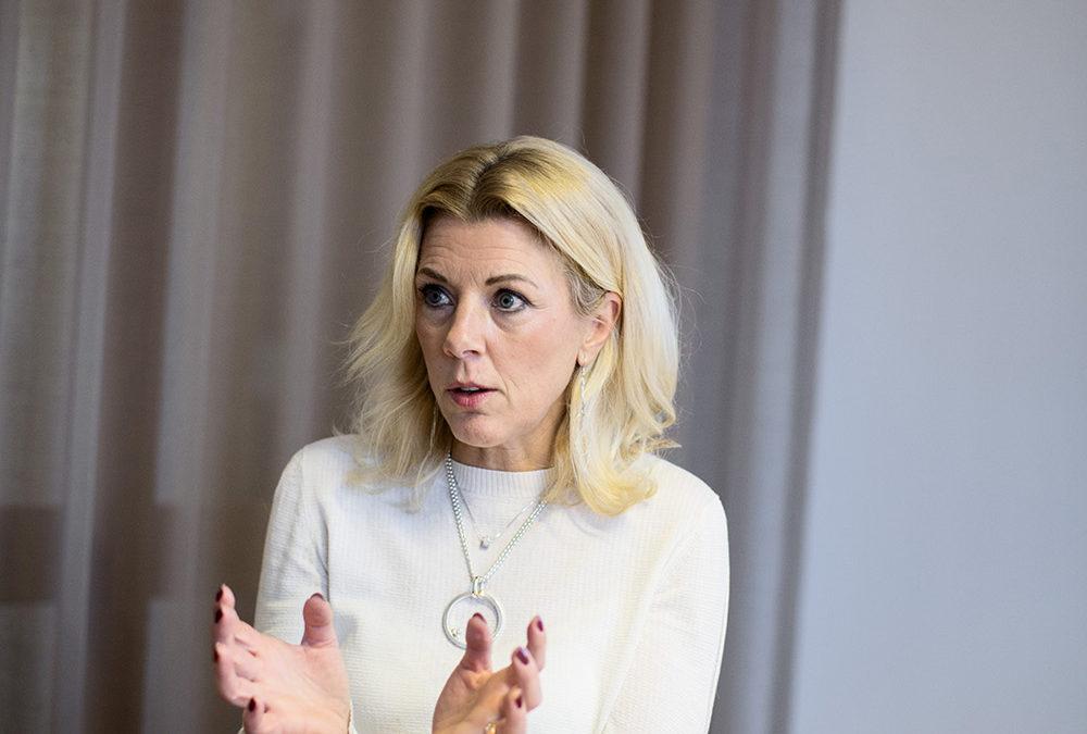 Ulrika Kjellberg, VD. Fotograf Jonas Tobin